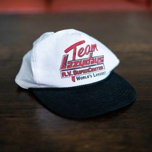 Vintage 80s 90s Old Man Trucker Baseball Cap Hat